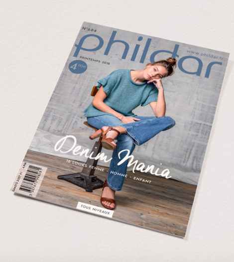 """""""long live the knitting - Hand-crafted trend : Phildar"""""""