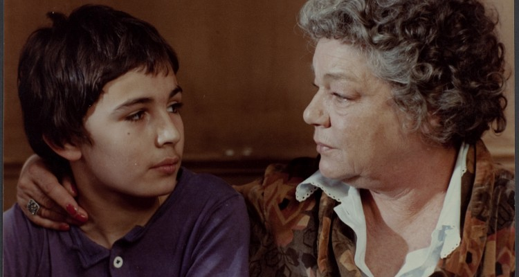 """""""scene from the movie Madame Rosa, a story of difficult childhood of Moshe Mizrahi"""""""