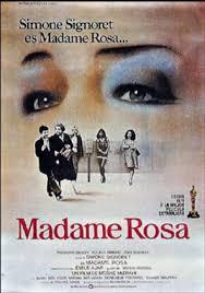 """Movie poster of La vie devant, a story of difficult childhood, of Moshe Mizrahi"""