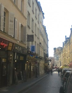 """Mouffetard street"""