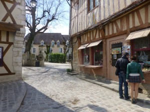 """""""medieval city - the main Provins square"""""""