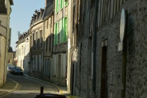 """""""medieval city - an old middle ages street in Provins"""""""