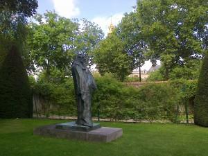 """Museum Rodin garden - Rodin's life"""