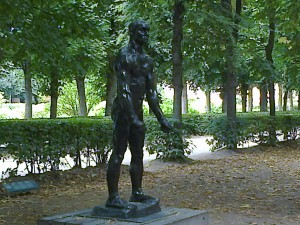 """Rodin Museum garden in Paris and sculptures - Rodin's life"""