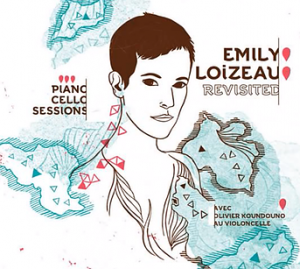 """""""Disc cover of Emily Loizeau singing Gigi l'amoroso, a song of Dalida, one of the most famous French singer in 70s"""""""