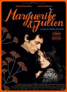 """a movie about incest - Movie poster of Marguerite et Julien"""