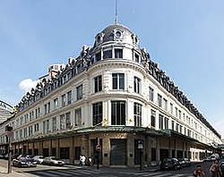 """""""The actual Bon Marché, the first department stores in the world"""""""