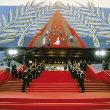"""the stairs of Cannes Festival palace"""