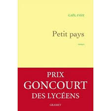 """Cover book of Petit Pays of Gaël Faye, the history of the Rwandan genocide"""