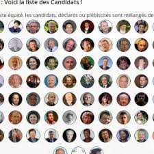 """""""candidates to French presidential elections 2017 - diversity in politics"""""""