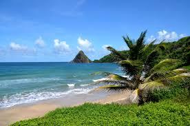 """French Antilles in Caribbean area - plage de Martinique"""