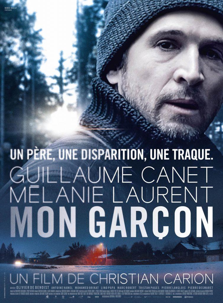 """""""Movie poster Mon Garçon, a French thriller"""""""