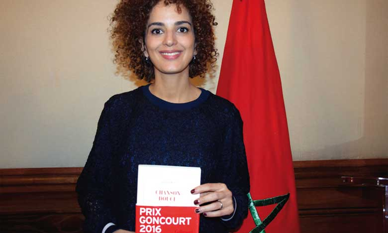 """""""Cover book of Une chanson douce of Leïla Slimani - A story of an infanticide"""""""