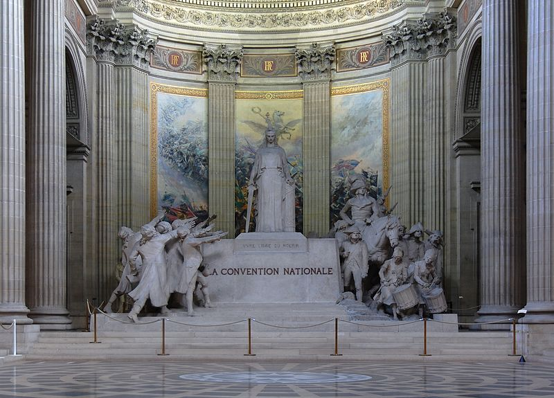 """Parisian Pantheon - Monument à la Convention nationale"""