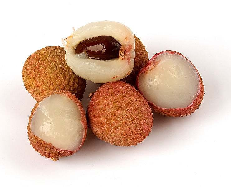 """""""10 fruits and vegetables to eat - Litchi"""""""