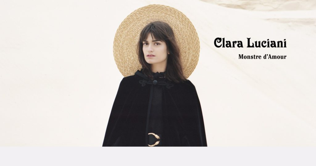 """Spirited and up-and-coming French singer - Clara Luciani Monstre d'amour"""