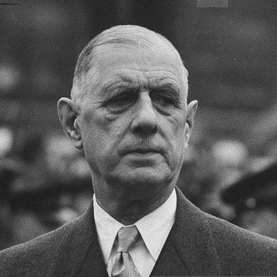 """""""French History - Général de Gaulle"""""""