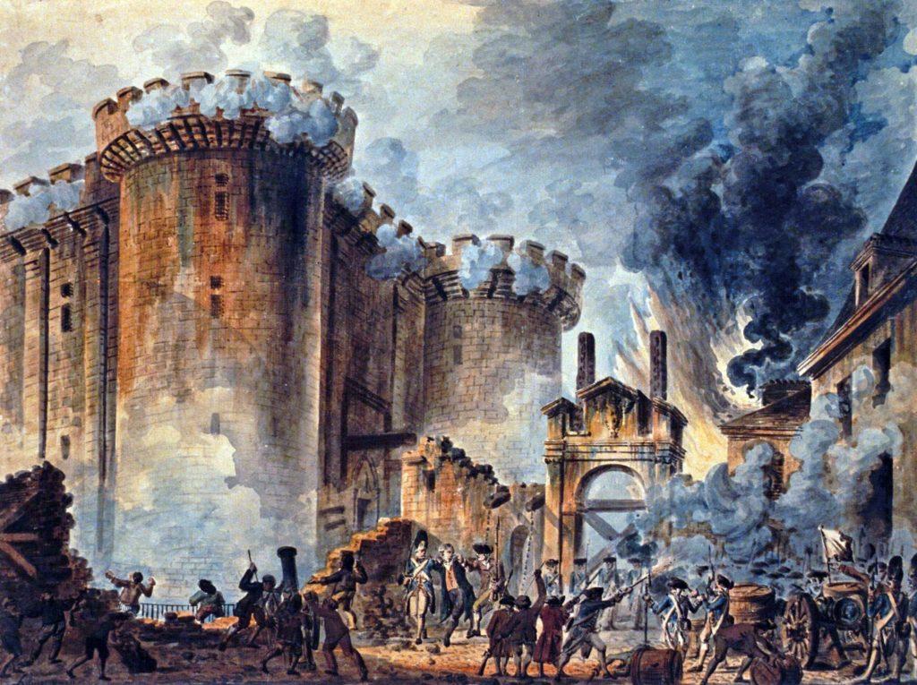 """""""French citizenship - La prise de la Bastille"""""""