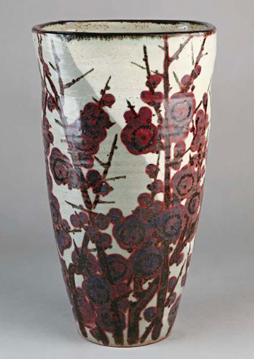 """Parisian Museum of the Asian arts - Vase Japonais - 1950 Kiyomizu"""