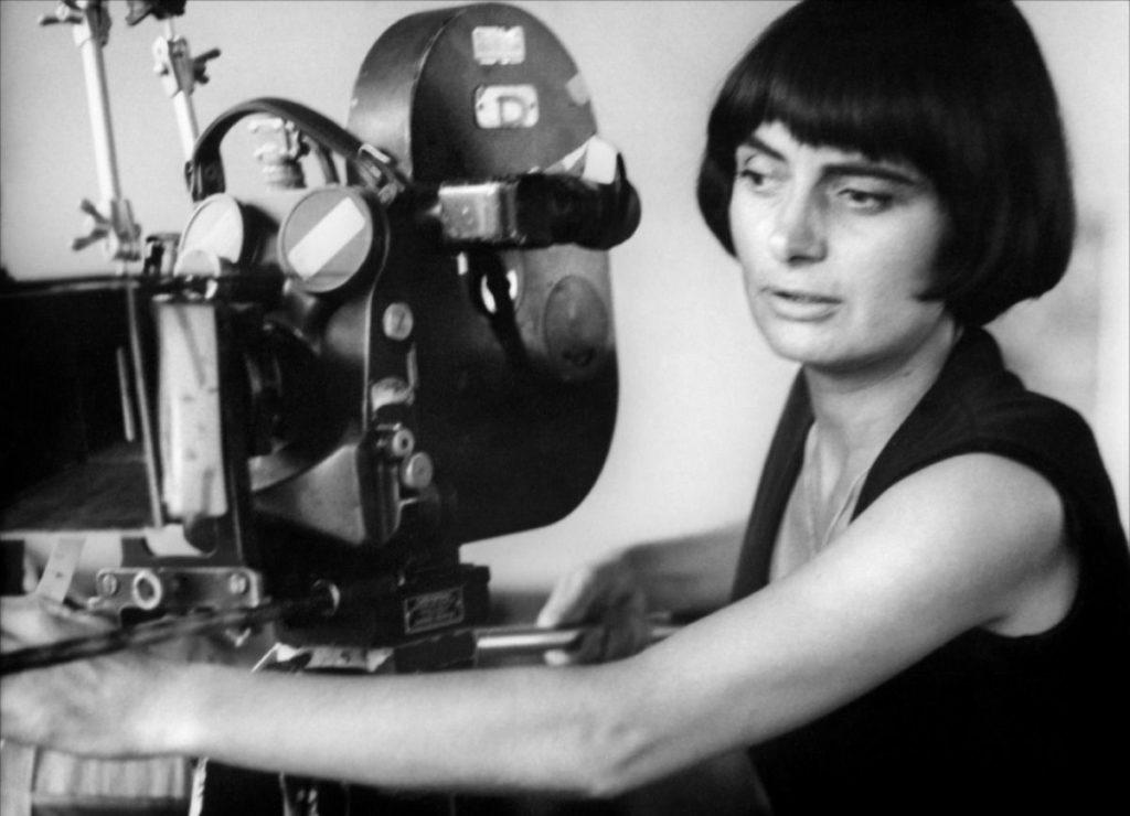 """French film-maker Agnès Varda & Cléo from 5 to 7 / Agnès Varda - 60s"""