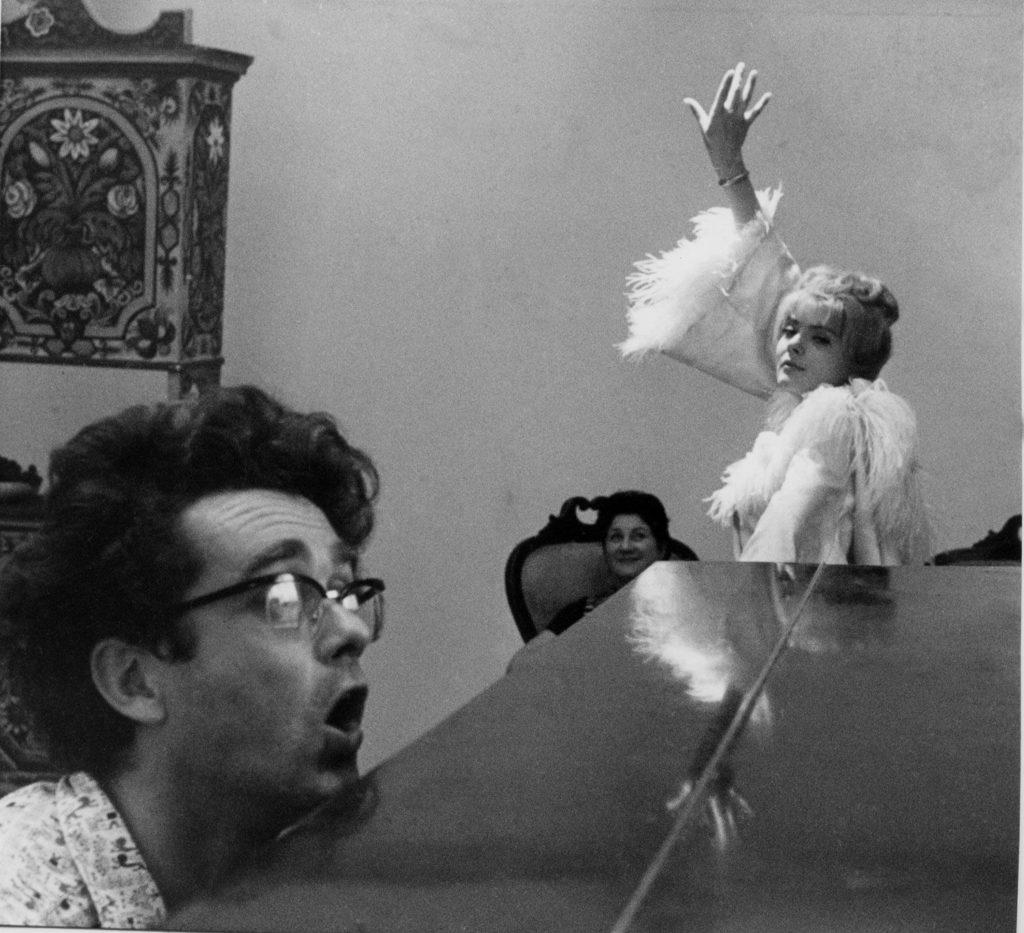 """French film-maker Agnès Varda & Cléo from 5 to 7 / Bob et Cléo"""
