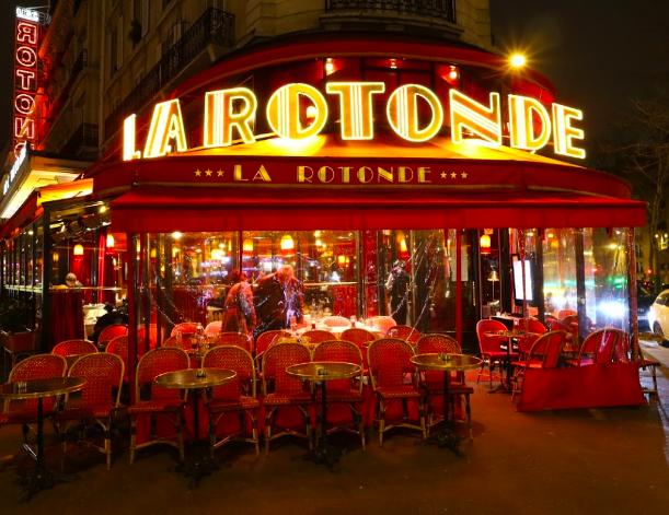 """brasserie bistrot or restaurant - La Rotonde"""