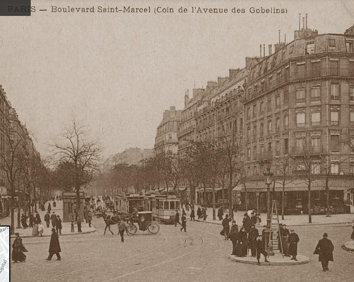 """""""Paris 1853 - les Gobelins après les grands travaux haussmanniens"""""""