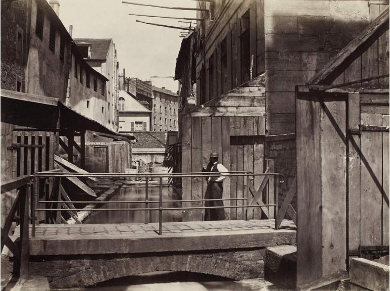 """""""Paris 1853 - Le bas de l'avenue Gobelins avant 1853"""""""