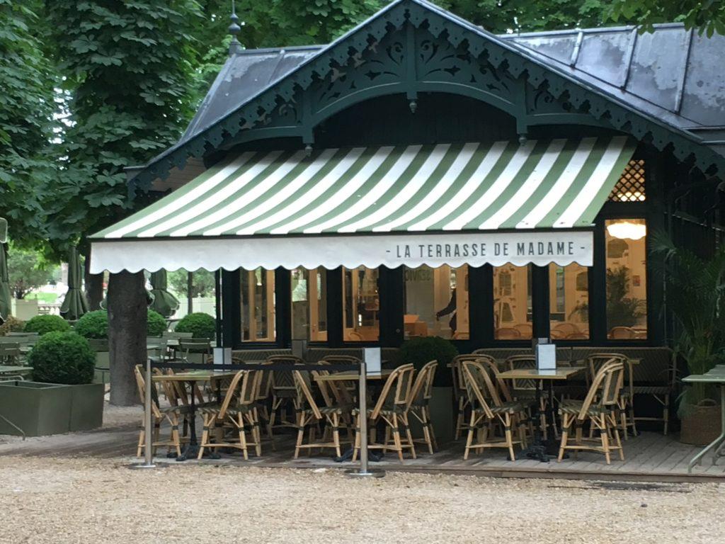 """""""Parisian café terraces - La Terrasse de Madame"""""""