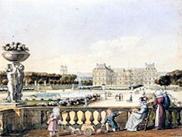 """Parisian Luxembourg gardens"""