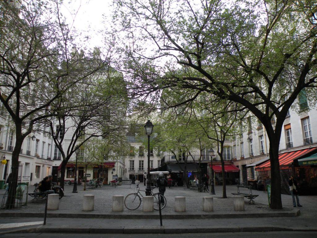 """""""Parisian café terraces - Marché Sainte-Catherine"""""""