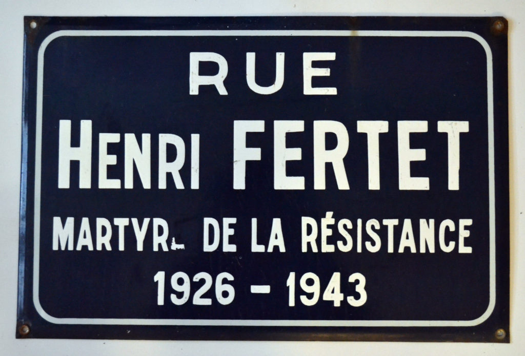 """D-Day landings - Henri Fertet resistant"""