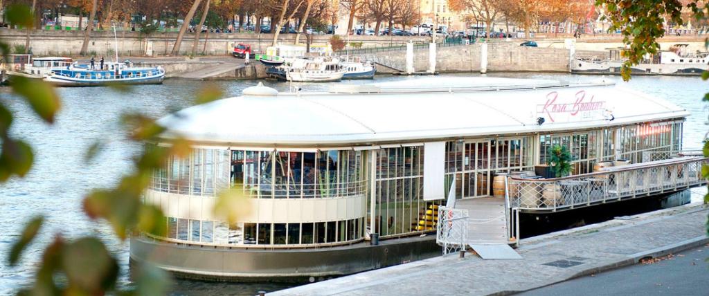 """""""Parisian café terraces - Rosa Bonheur sur Seine"""""""