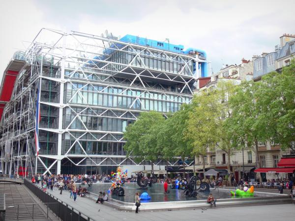 """Modern Art in Paris - Beaubourg"""