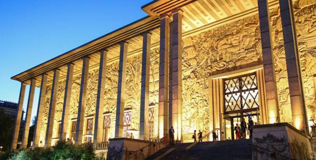 """""""Parisian Art Deco mansion - Palais de la Porte dorée"""""""