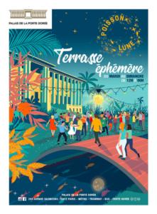 """""""Parisian Art Deco mansion - Palais de la Porte dorée - Terrasse Poisson-Lune"""""""""""