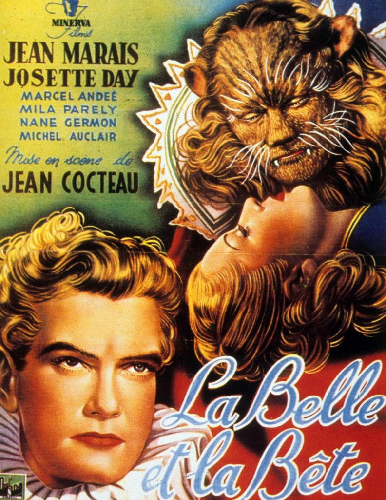 """""""Beauty and the Beast of Cocteau - Affiche"""""""