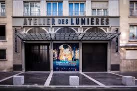 """""""French museums - L'Atelier des Lumières"""""""