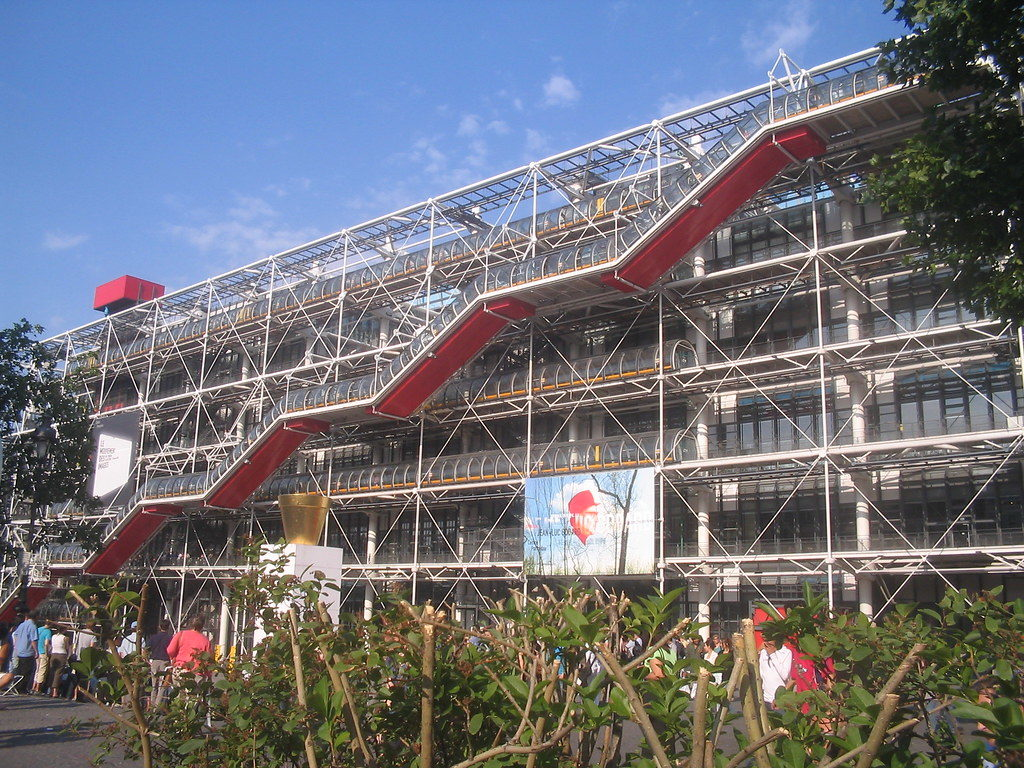 """French museums - Centre George Pompidou"""