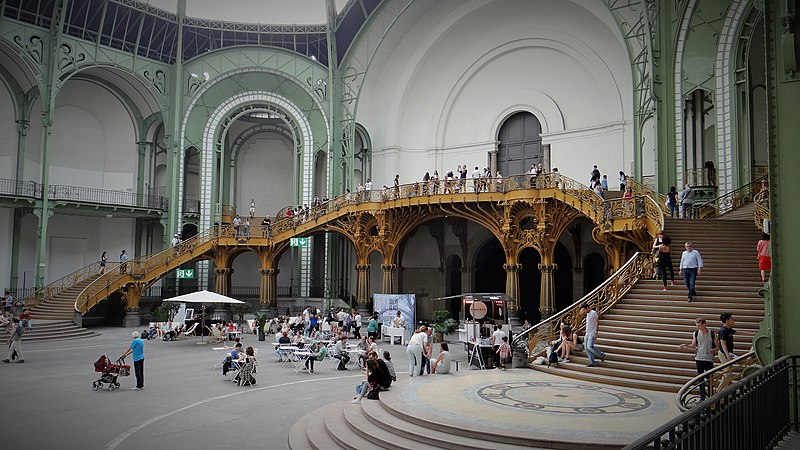 """French museums - Le Grand Palais et son escalier"""