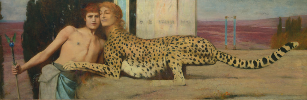 """French museums - Khnopff au Petit Palais"""