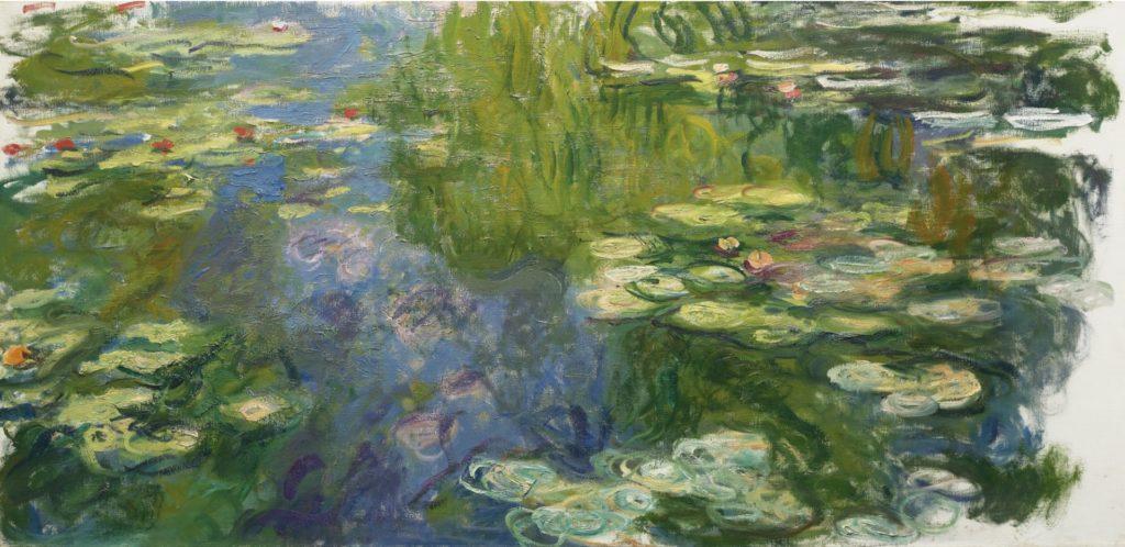"""""""Nympheas - at Orangerie Museum in Paris"""""""