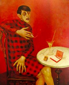 """""""French museums - Portrait de Sylvia Von harden de Otto Dix au musée Pompidou"""""""