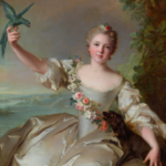 """""""French museums ; Portrait de Marguerite d'Antin de Nattier à Jacquemart André"""""""
