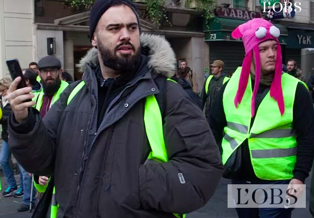 """Yellow vests movement- one year already"""