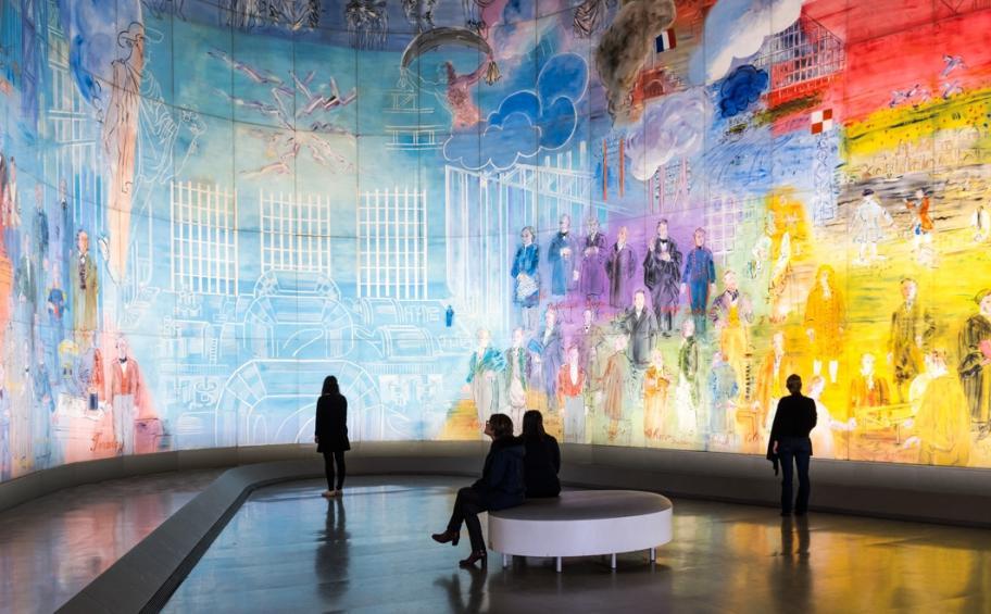 """""""Parisian Modern Art Museum - La fée électricité of Dufy"""""""