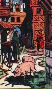 """""""Authentic historical French Perfumes - AU MA, ce sont les cochons en liberté qui ramassent les ordures"""""""