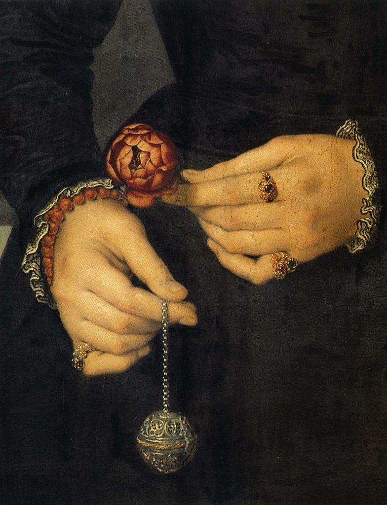 """""""Authentic historical French Perfumes - portrait de femme de Nicolas de Neuchatel dit Lucidel)"""""""