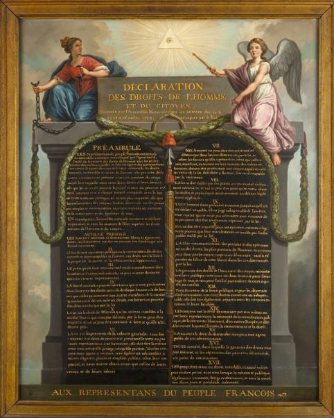"""""""French Symbols - Déclaration des droits de l'homme et du citoyen du 26 août 1789"""""""