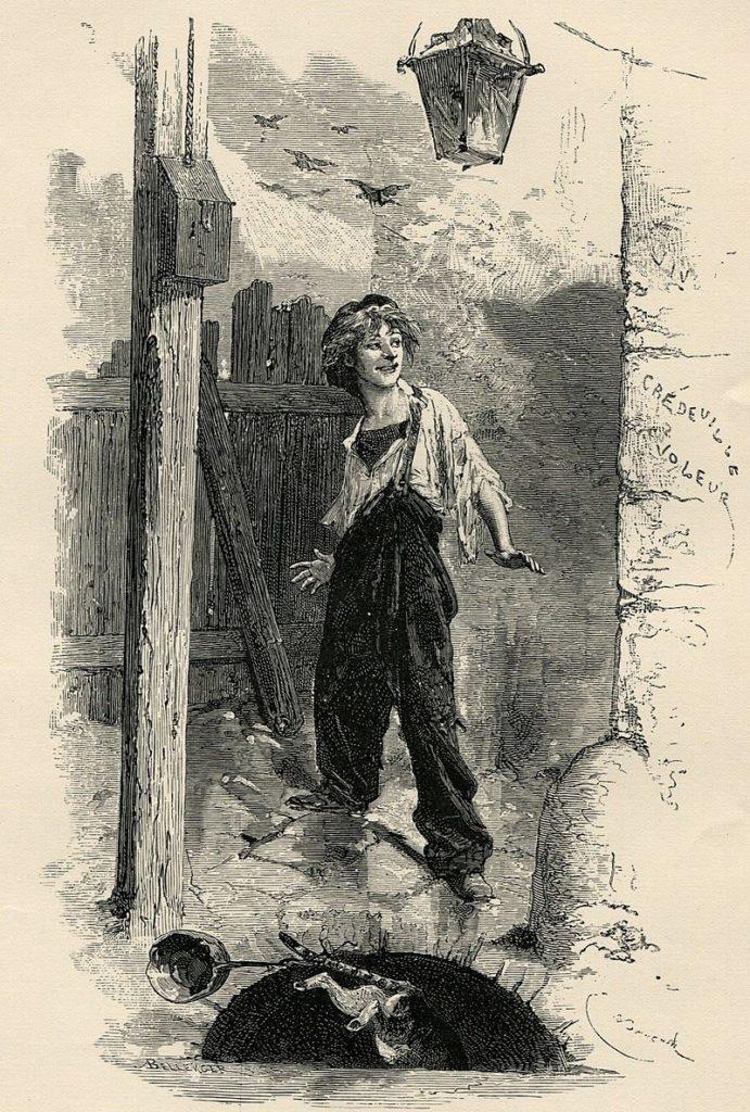 """""""Les Misérables - Gavroche des Misérables de Victor Hugo"""""""